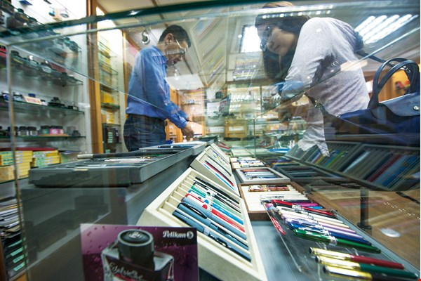 Taipei stationer Xiaopin Yaji is a veritable place of pilgrimage for pen enthusiasts.