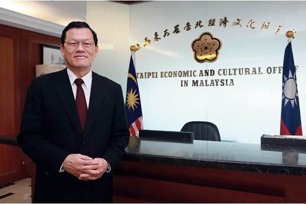 "James Chang, Taiwan's representative at the Taipei Economic and Cultural Office in Malaysia, notes that human resource exchanges between Taiwan and Malaysia represent the most outstanding accomplishment of the ""New Southbound Policy."""