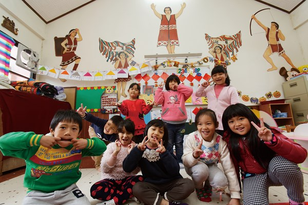 Through Martinson's efforts, the Sacred Heart Kindergarten improves indigenous children's access to education. (Lin Min-hsuan)