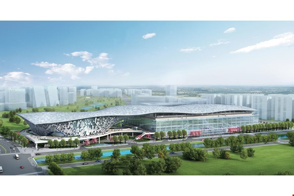 NT$10 billion has been allocated to build the Shuinan International Exhibition and Convention Center, which aims to create a new blueprint for manufacturing.  (courtesy of Taichung City Government)