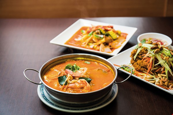 Downhome Thai food soothes the cravings of  expatriate workers.