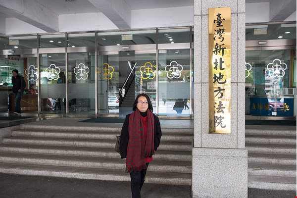 After undergoing training, Tang Nu Huong was hired as an interpreter at the Taiwan High Court and at district courts.