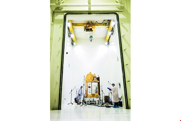 The National Space Office Satellite Integration and Test Building's vibration and thermal-vacuum testing helped make Formosat-5 a success. The NSPO hopes to accept commissions to test other nation's satellites in the future.