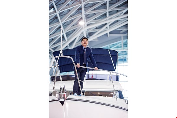George Chang, general secretary of the Taiwan Yacht Industry Association, believes that the extensive supply chains that the industry long ago developed in Taiwan constitute a major advantage.