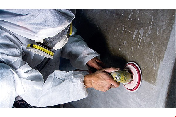 Labor-intensive operations such as mold making, buffing and painting are essential stages in the building of any luxury yacht. (courtesy of Alexander Marine)