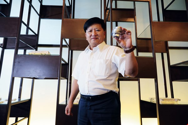 Jinpao's success is the result of Victor Chung's vision and careful planning.