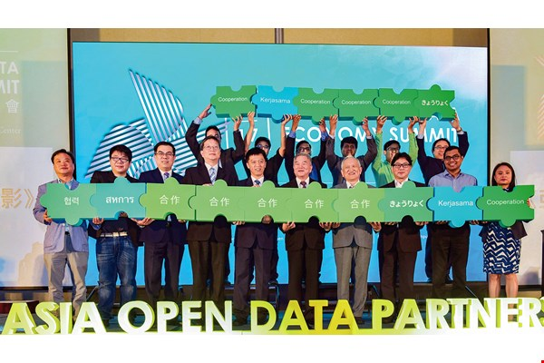 Taiwan's outstanding achievements in open data have enhanced its connections to the rest of the world, and become an important element of its soft-power diplomacy. (courtesy of the ODA)