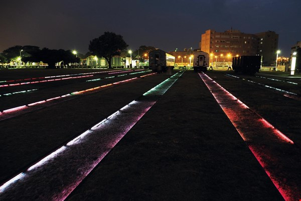 "The ""Illuminate Hamasen"" project combines light art with landscape art, using light to tell a local Kaohsiung story."