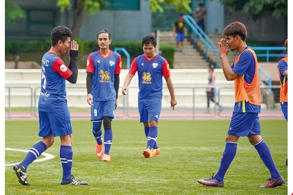 A team sport that stresses cooperation and selflessness,  soccer also requires both mental and physical aptitude.  When Thai teams meet, players raise their hands in a friendly wai, a prayer-like greeting that shows mutual respect.