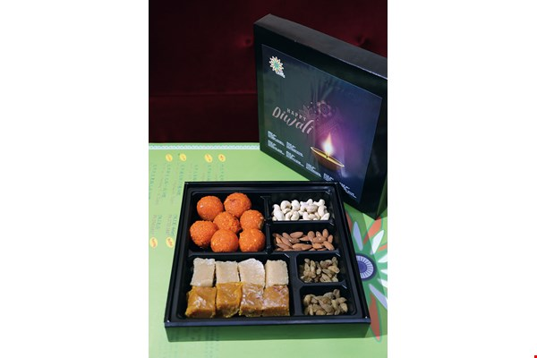 Sweet treats are popular gifts at the Indian New Year, adding joy to the season.