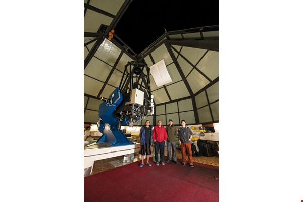 The Lulin Observatory has Taiwan's largest-diameter optical telescope, the Lulin One-meter Telescope. Workers must maintain it year-round to ensure that if the weather is good, observations can be made on any night of the year.