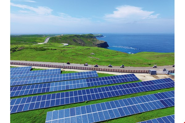 Qimei's smart power grid is a demonstration project for a low-carbon island.