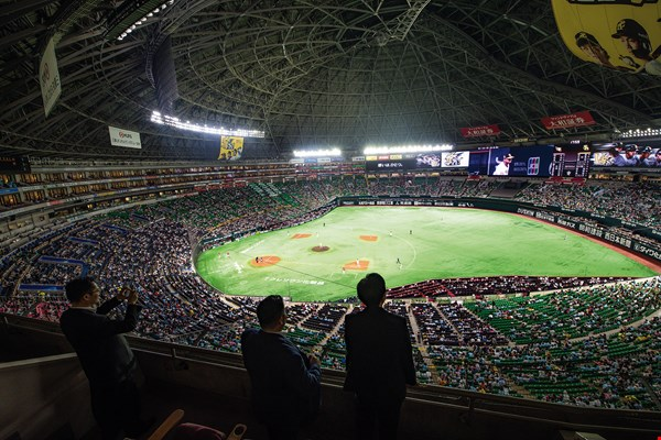 Fukuoka Dome (photo by Chuang Kung-ju)