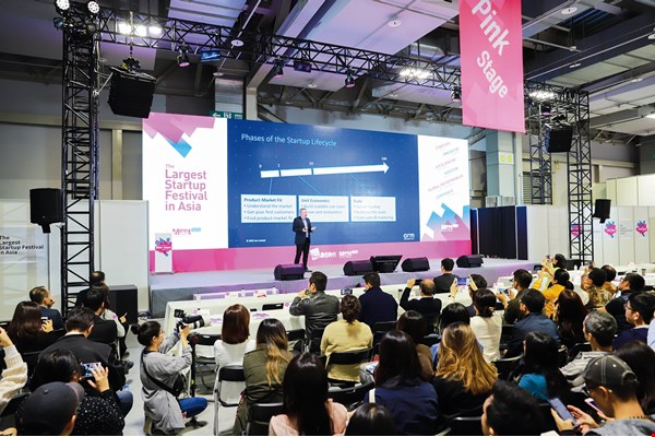 "Meet Startup, hosted by Business Next Media, has sponsored ""Meet Taipei"" annually since 2014, providing entrepreneurs with a platform for capital, resources, and international connections. (courtesy of Meet Startup)"