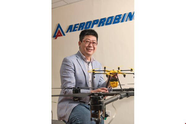 Going from amateur to UAV pioneer, in just five years Lance Kao has won the maximum investment from the National Development Fund for his startup Aeroprobing.