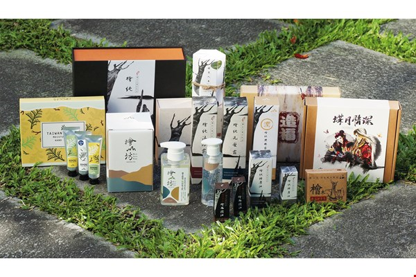 Beginning with simple essential oils, Kuai Shan Fang has developed various other products over the years, from shampoos and shower gels to soaps and hand lotions. These have attracted attention both in Taiwan and overseas.
